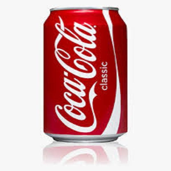 Coke regular can
