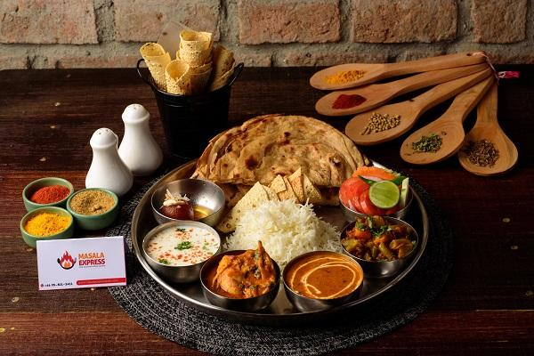 Special Chicken Thali